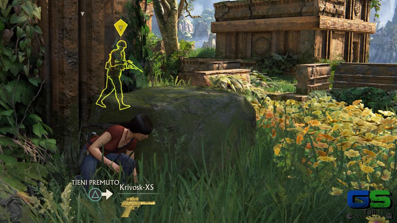 Uncharted: L'eredità Perduta - Nascondiamoci!