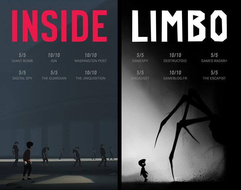 News – Inside e Limbo insieme in una versione retail per PlayStation 4 e Xbox One