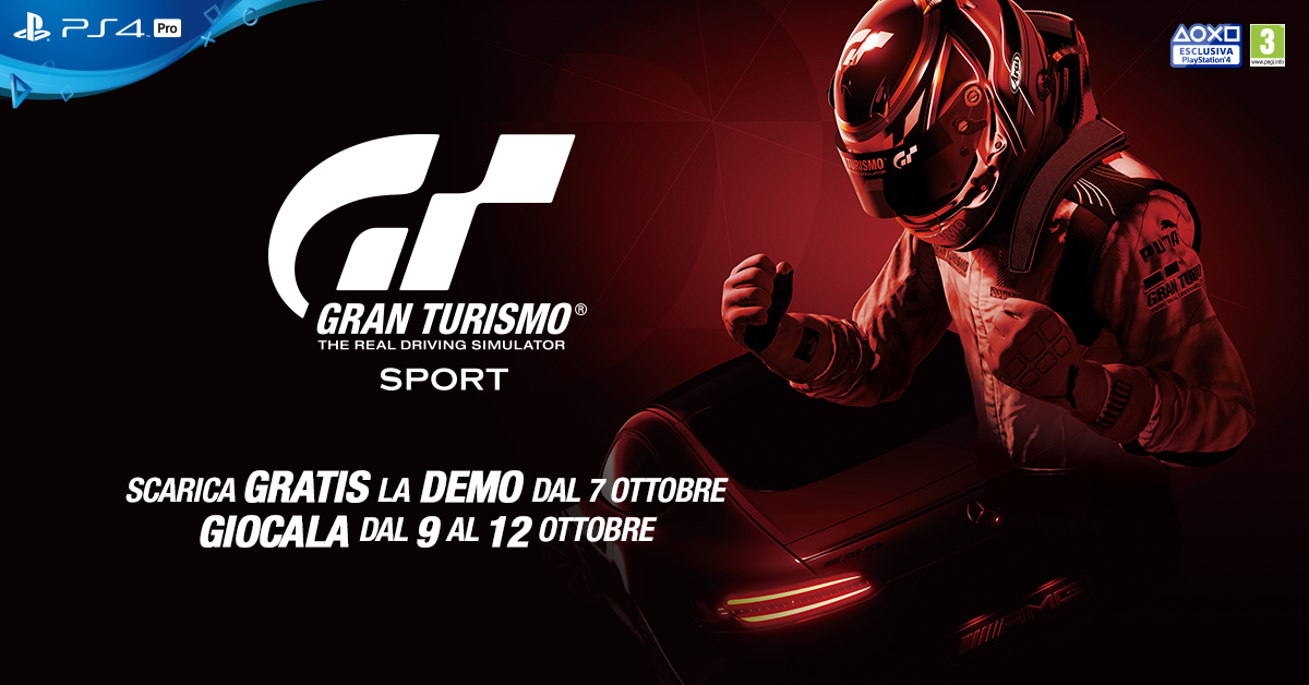 News – Gran Turismo Sport, in arrivo la demo a tempo limitato