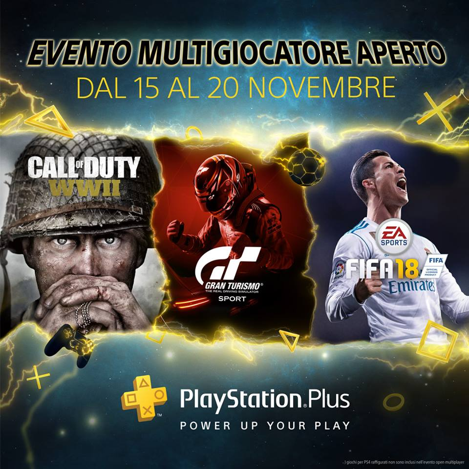 Open Multiplayer di PlayStation Plus