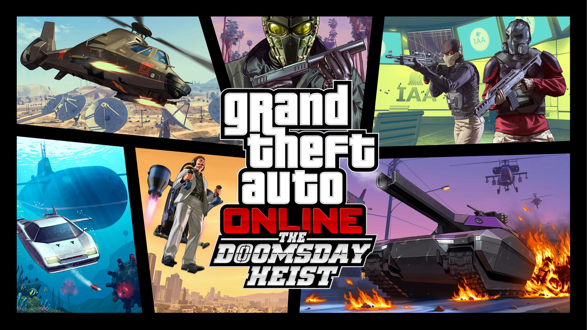 News – GTA Online: aggiornamento il colpo dell'Apocalisse ora disponibile