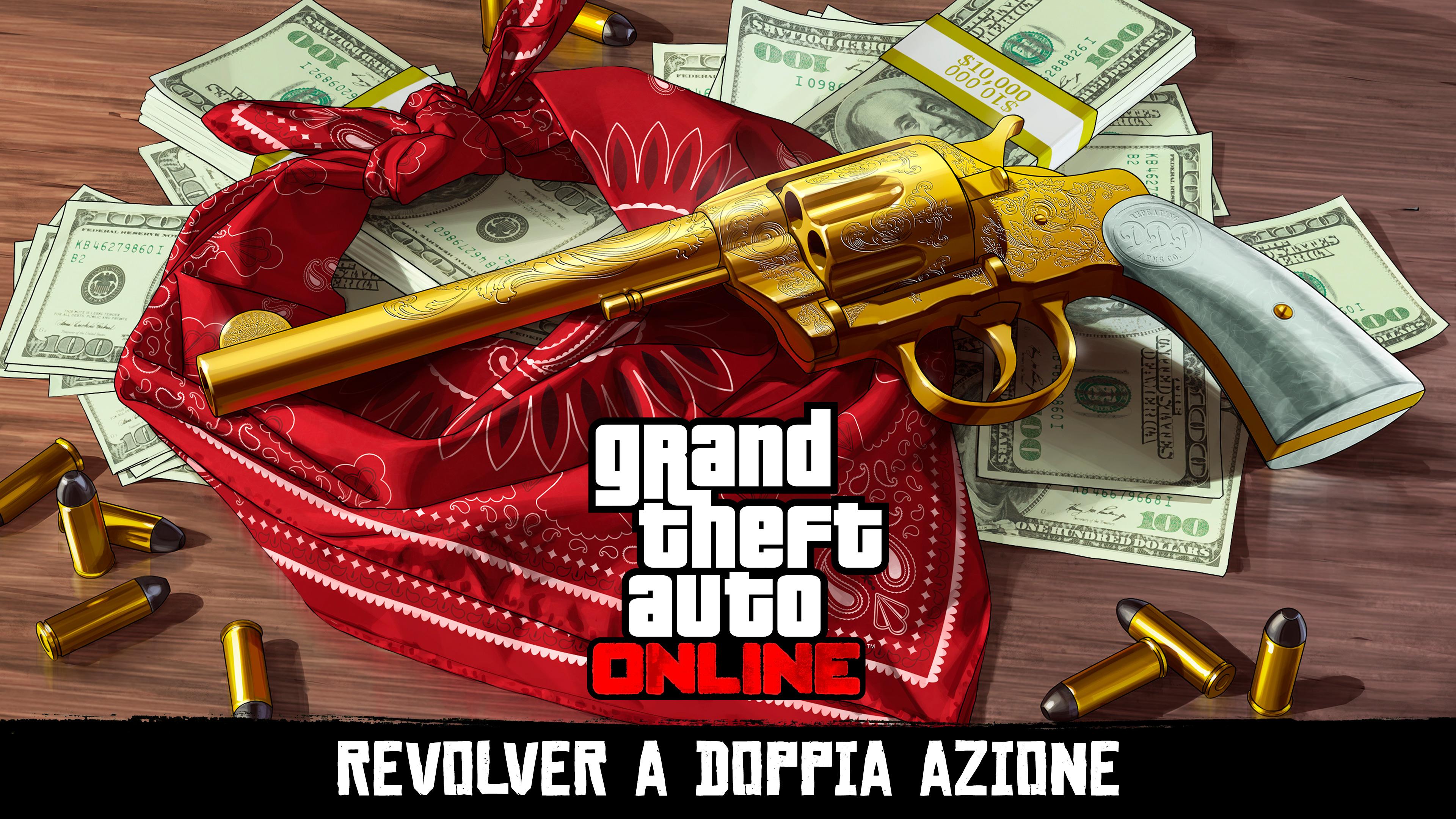 News – GTA Online: caccia al tesoro! Il Revolver sbloccabile anche in Red Dead Redemption 2
