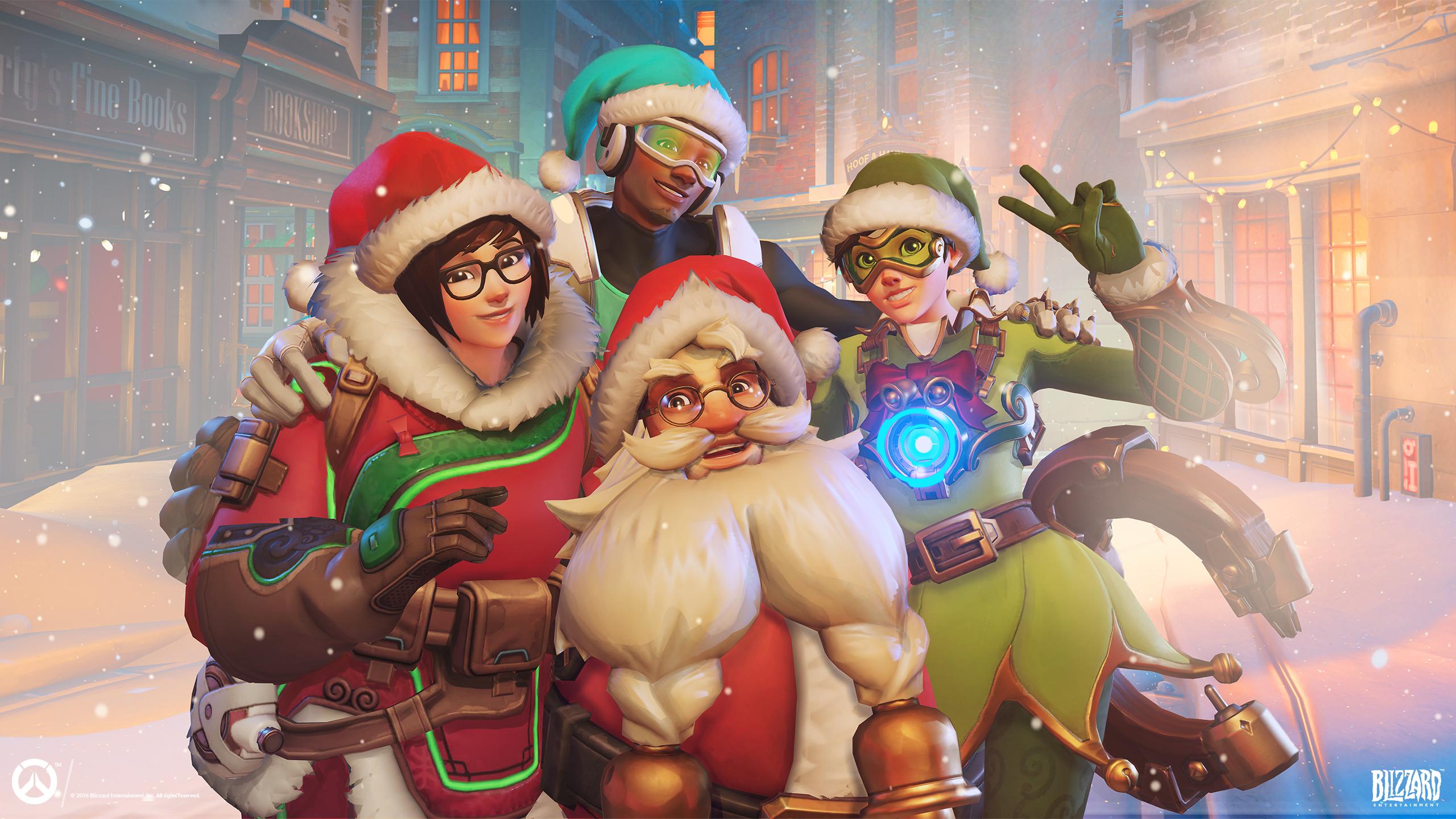 News – Overwatch: è arrivato l'evento speciale Magico Inverno!