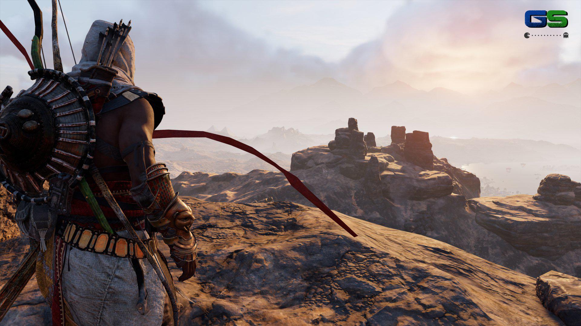 Assassin's Creed Origins - L'attrezzatura di Bayek