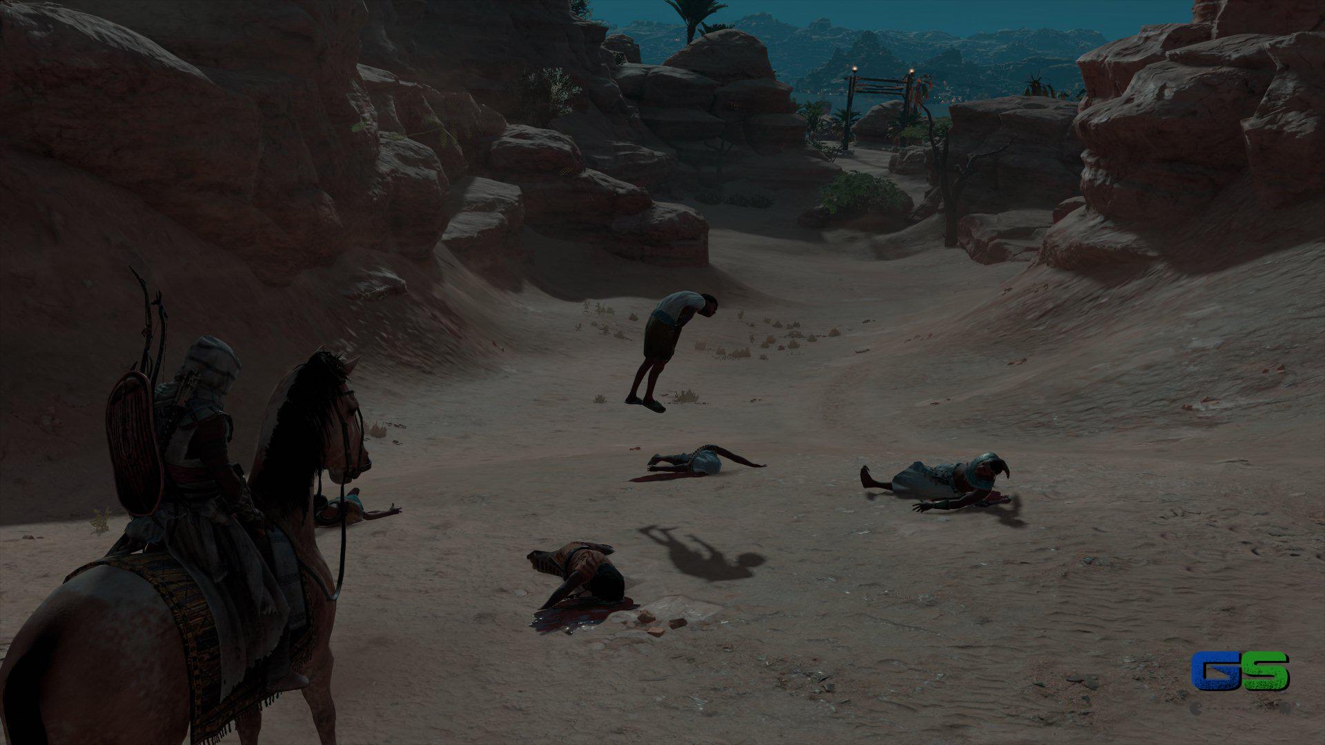 Assassin's Creed Origins - Un piccolo bug
