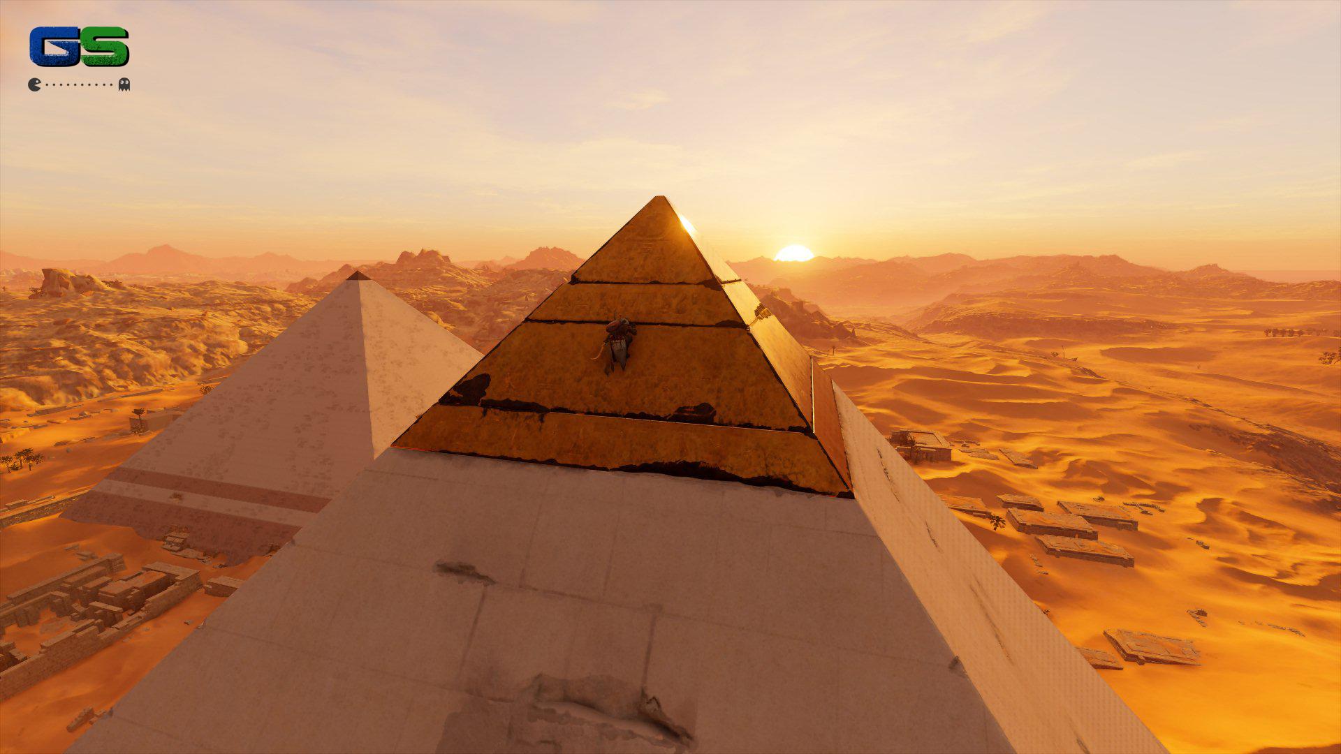 Assassin's Creed Origins - Verso la cima della piramide!