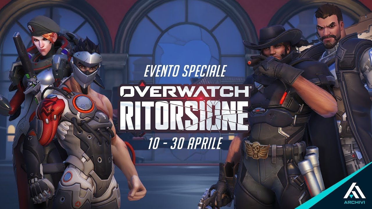 News – Evento Overwatch Ritorsione