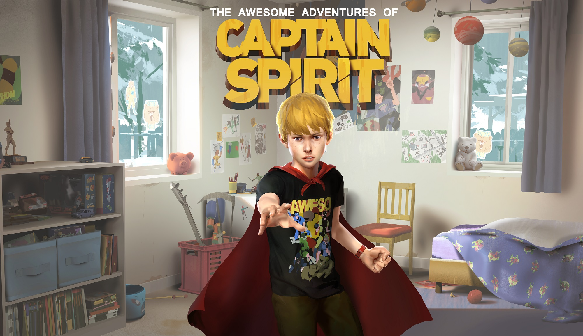 The Awesome Adventures of Captain Spirit, il nuovo punta e clicca nell'universo di Life is Strange