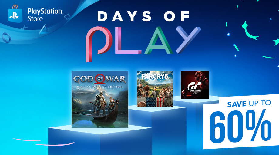 News – Sconti Playstation Store: arrivano i Days of Play