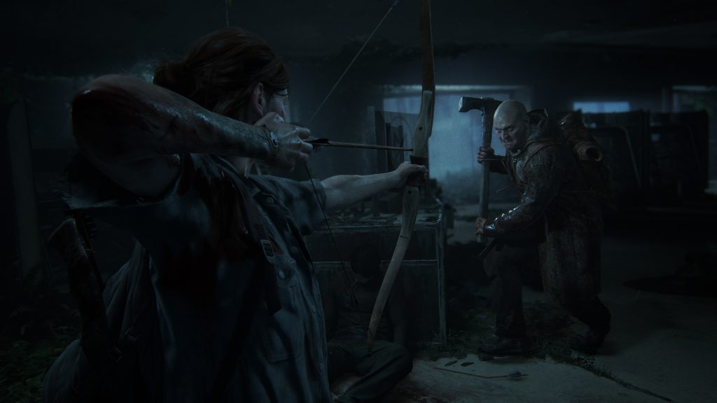 The Last of Us Parte II - Scena di combattimento