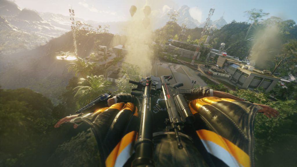 Torna la tuta alare in Just Cause 4