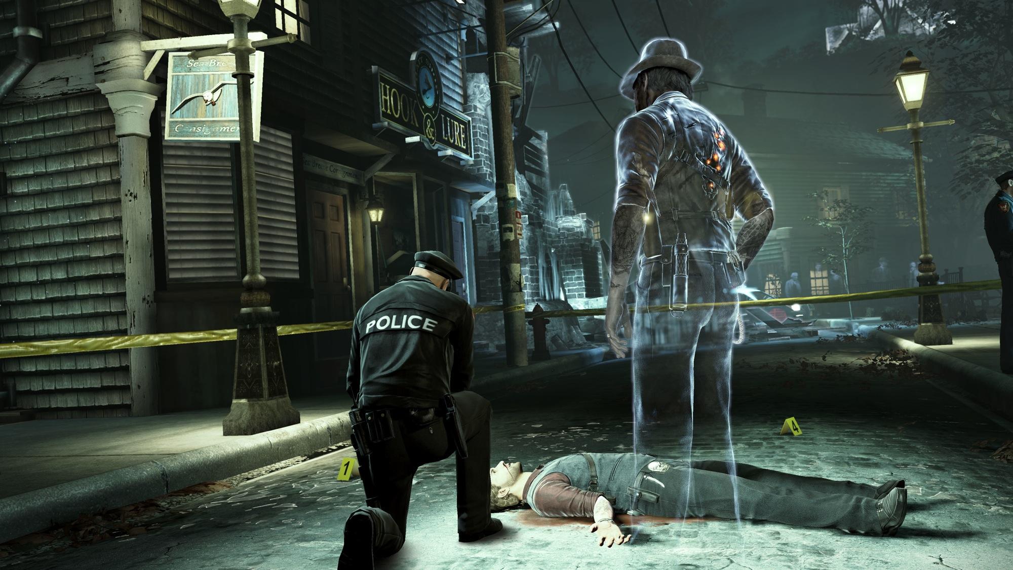 Murdered: Soul Suspect - Ronan osserva se stesso, morto.